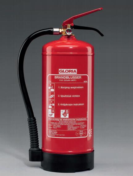 gloria sproeschuimblusser van de water brandbeveiliging