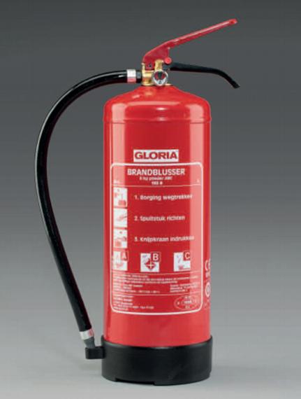 gloria vetbrandblusser van de water brandbeveiliging